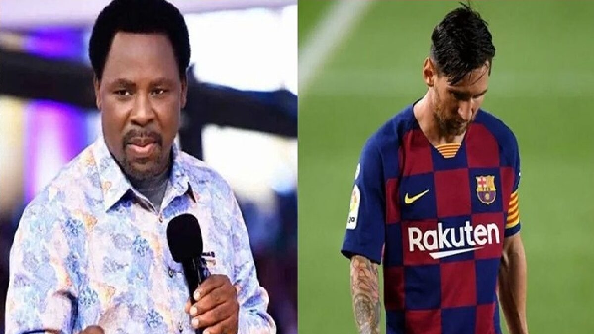 Photo of TB Joshua warns Messi against leaving Barcelona