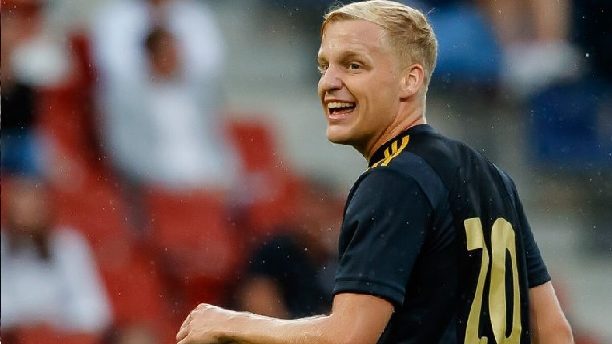Manchester United Sign Van De Beek From Ajax For 5 Years deal