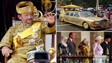 Meet the world's richest king, Sultan Bolkiah, with 500 rolls-Royces, and other fleets of expensive cars