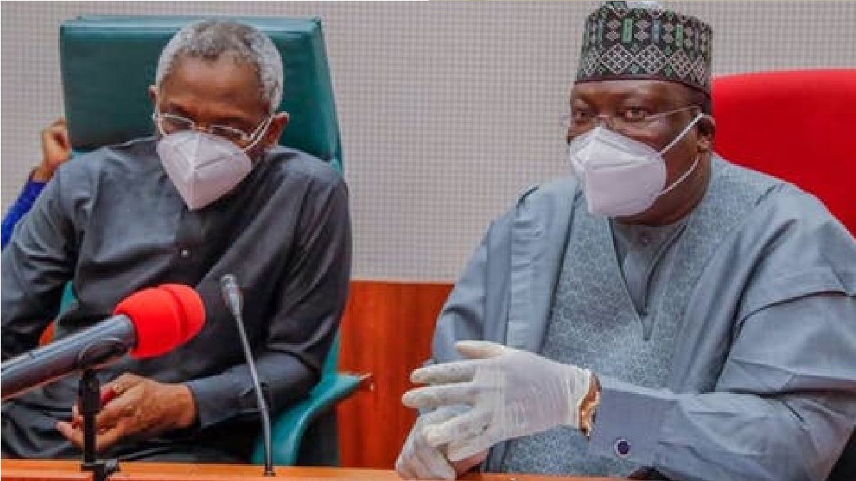 'Go Back Home, Stop #EndSARS Protests' - Ahmad Lawan, Gbajabiamila Tell Protesters