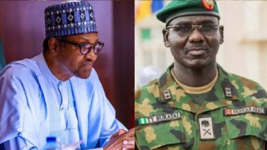 Photo of Buhari rejects Army Chief Buratai's request to deploy soldiers for #EndSARS