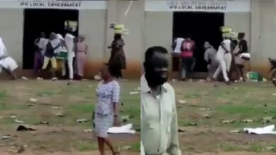 VIDEO: Hoodlums attack Nigeria Church, Loot food items