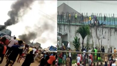 Photo of Prison Break: Hoodlums break into Benin prison, set inmates free [VIDEOS]