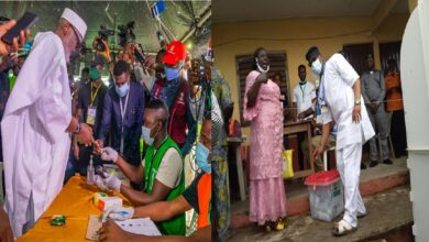 Akeredolu, Eyitayo Jegede cast their vote in their various polling unit, what they think about the electoral process