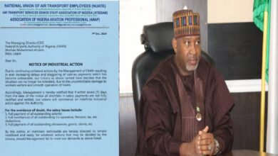 Photo of Governorship Ambition: Aviation Minister Accused Of Withholding Staff Salaries