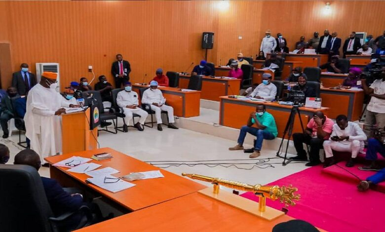 Fayemi Presents N109.6bn 2021 budget to Ekiti Assembly