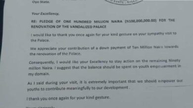 Ogbomoso Monarch Tells Gov Makinde To Use N90m Palace Renovation Donation To Empower Youths