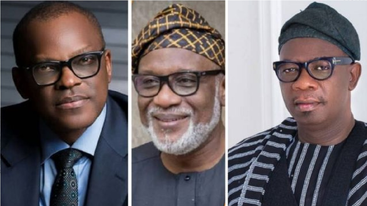 HEAD TO HEAD: how the three lawyers fighting to rule Ondo State stand