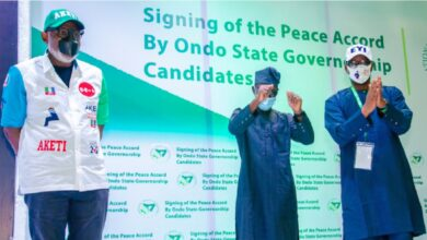 Ondo 2020 Updates: Live Updates, Results, Situation reports from governorship election