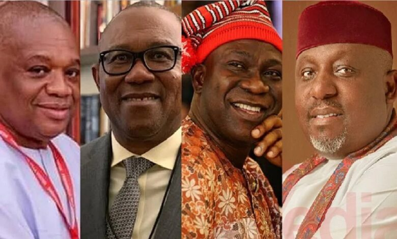 2023: Buhari's likely successor named as coalition shortlists 10 candidates including governors (full list)