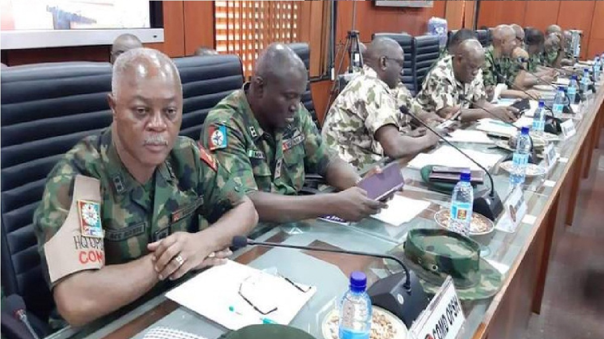 #ENDSARS: Don't be afraid of the ICC in the line of duty, Nigeria army commander tells troops