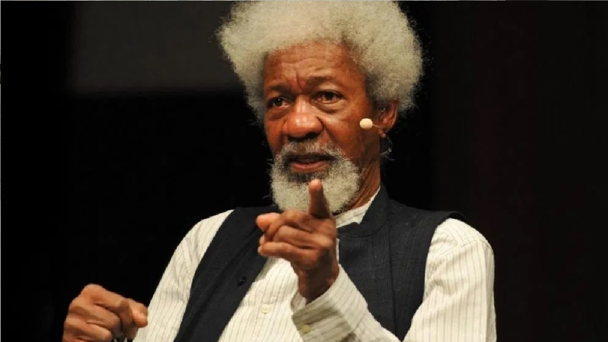 Soyinka reacts saying FG have replaced SARS with Soldier', condemns attack on protesters