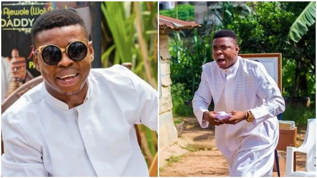 Comedian Woli Agba warns those impersonating on Facebook, turning it into a funny parody (see video)