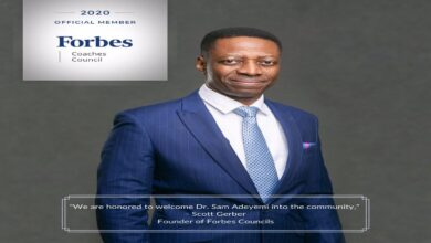 Photo of Pastor Sam Adeyemi Accepted Into The Forbes Coaching Council