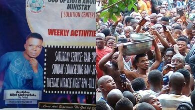 Shocking: Prophet Caught With Human Parts in Anambra