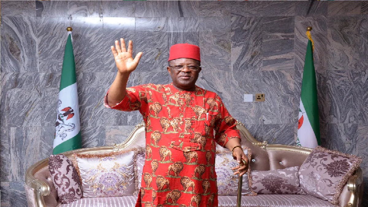 'We won't join you in APC' — Ebonyi lawmakers tackle Umahi over defection