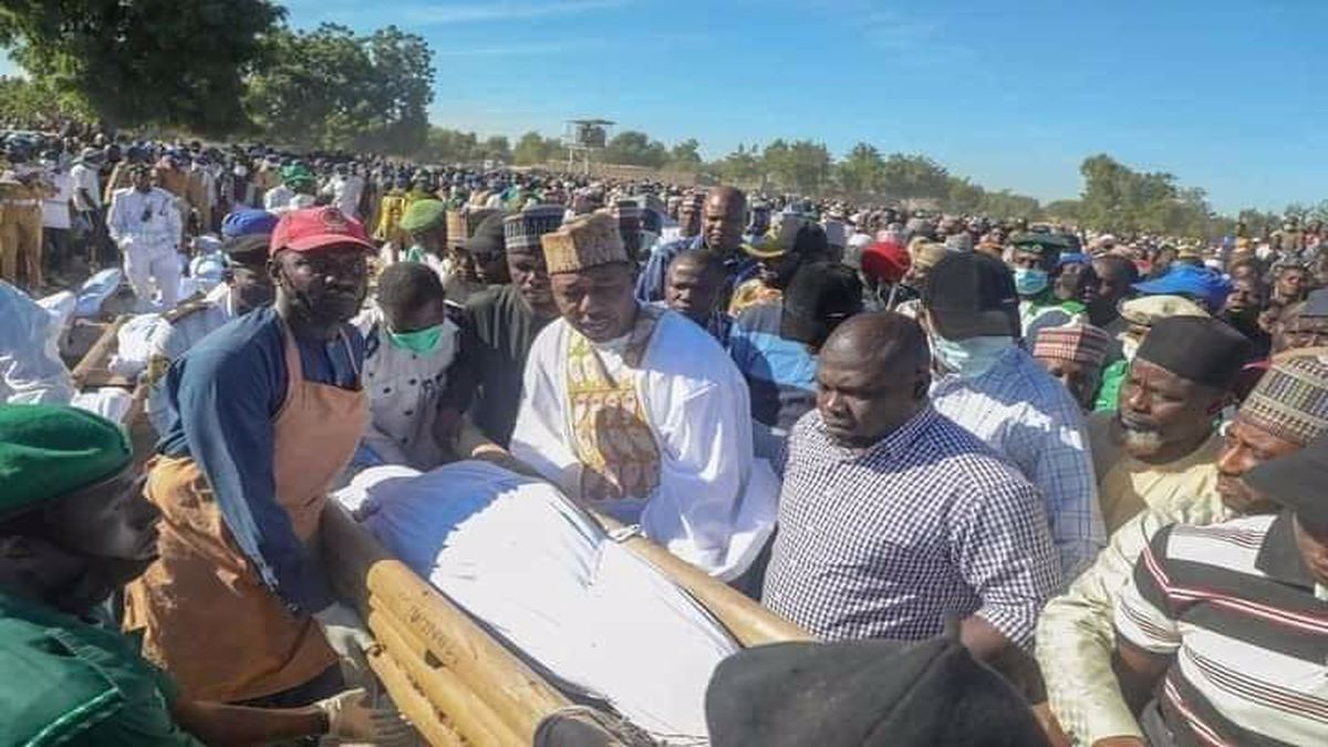 """President Muhammadu Buhari and Governor Babagana Zulum have condemned the killing of over 110 farmers in Borno State. While appreciating efforts of the military, the governor said: """"President Muhammadu Buhari"""