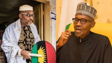 Biafra: Nnamdi Kanu warns Buhari of referendum