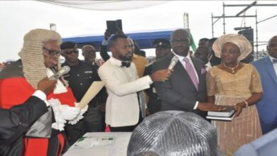 Edo: Gov Obaseki, his deputy sworn-in for second term(Video, Pics)
