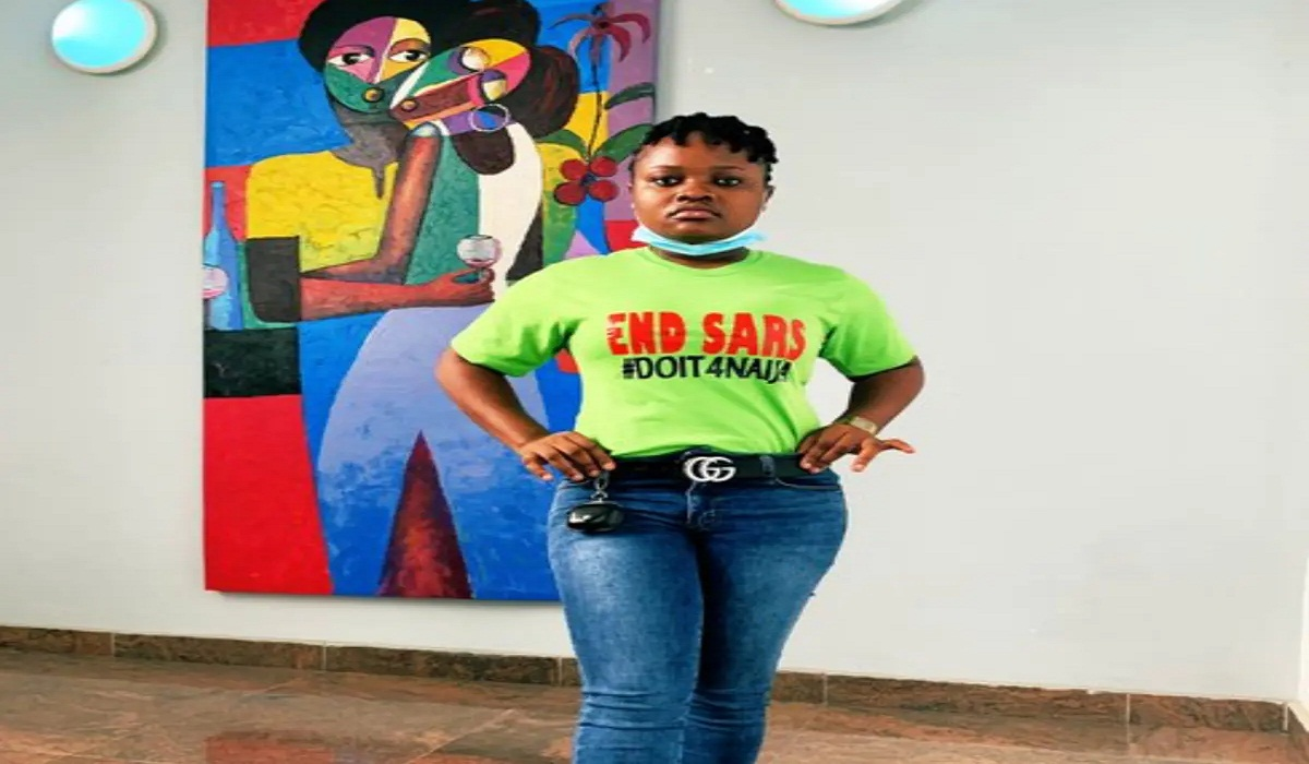 #EndSARS Promoter, Rinu On Frozen Account: I Am Disappointed In Nigeria