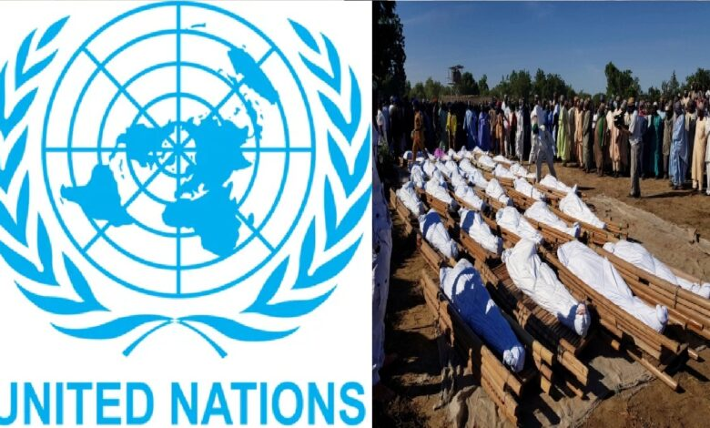 Boko Haram killed over 110 in Borno, as FG only claimed 44 farmers dead- UN