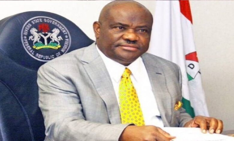 Rivers State Governor, Nyesom Wike, on Wednesday, slams his Ebonyi State counterpart, Dave Umahi,