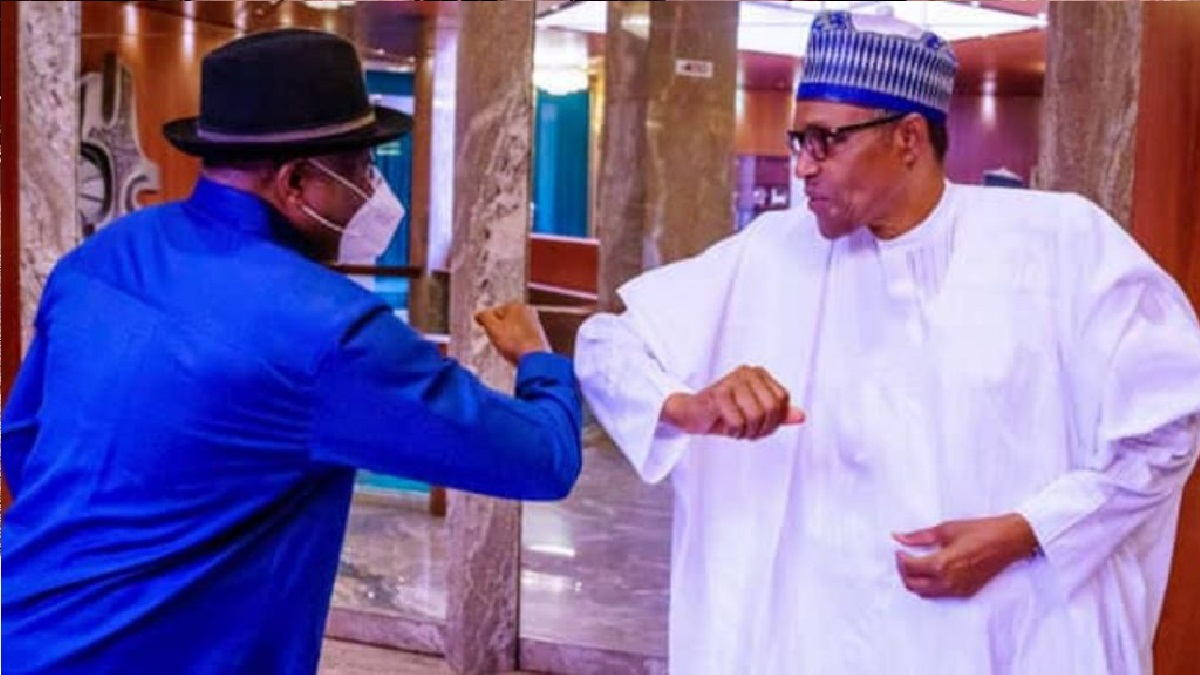 Buhari sends message to Jonathan to celebrate him