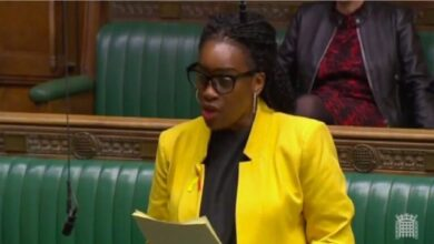 Kate Osamor, a member of the United Kingdom parliament,