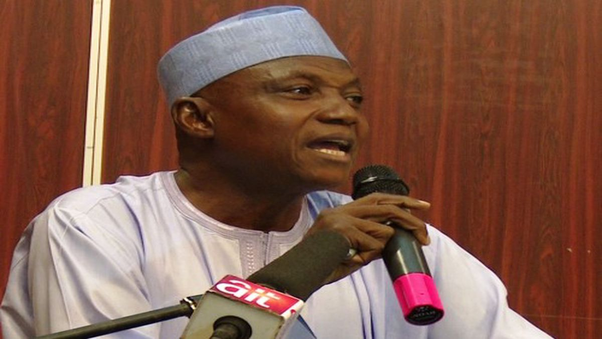 "PDP Is University Of Lies, "" Says Garba Shehu"