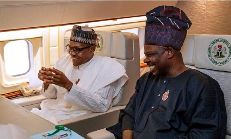 Document of How Amosun wired millions from state account to Buhari's personal account in 2016