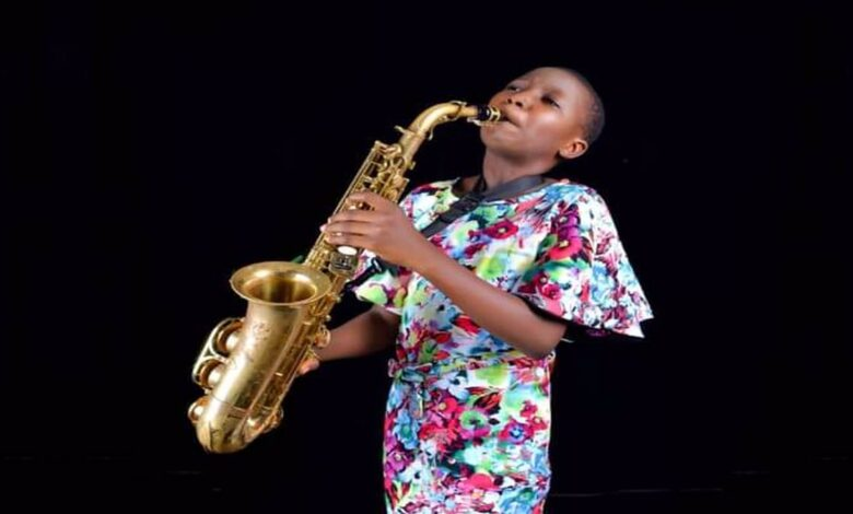 BREAKING: Fayemi's Wife Takes Over Eye Surgery Of 13-year Old Award Winning Saxophonist