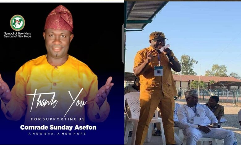 Mr. Sunday Dare Asefon has emerged the new 'global' President of the National Association of Nigerian Students (NANS), amidst sporadic shootings that rocked the contest.