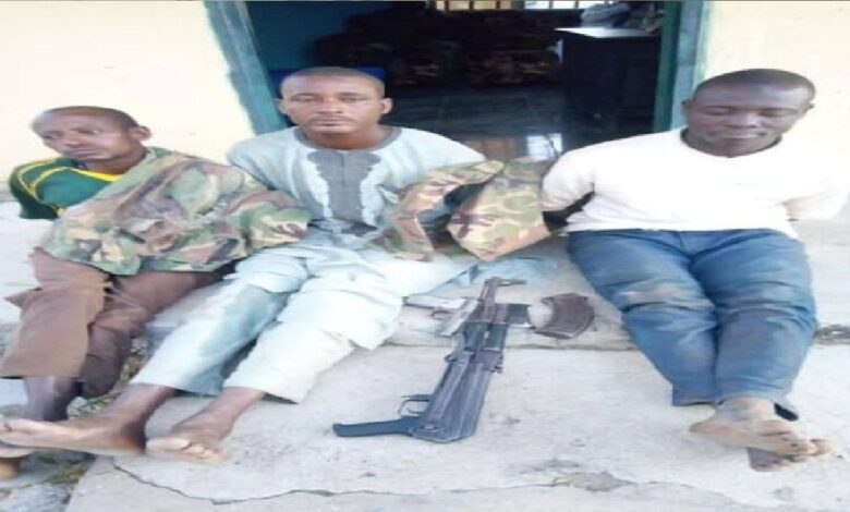 Security operatives arrest kidnappers in army uniform