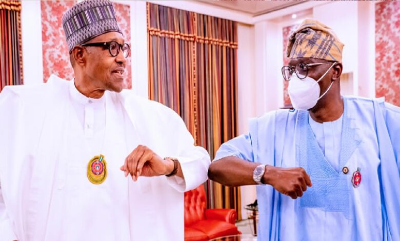 What Sanwo-Olu said after meeting with Buhari on Thursday in Aso Rock
