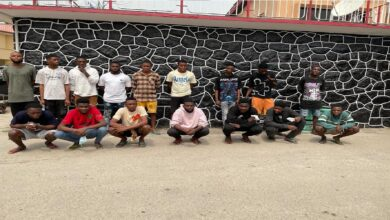 EFCC releases names of 16 suspected internet fraudsters arrested(Full list)