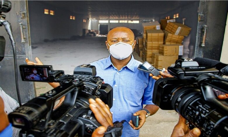 Imo State Discovers Warehouse Loaded With Government Properties(Video)