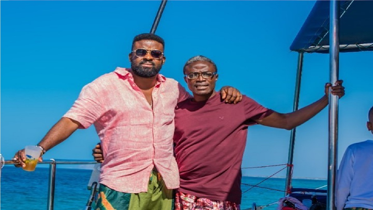 Kunle Afolayan Celebrates As His Brother Becomes A Professor (Photos)