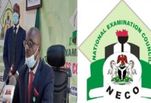 NECO releases 2020 SSCE results