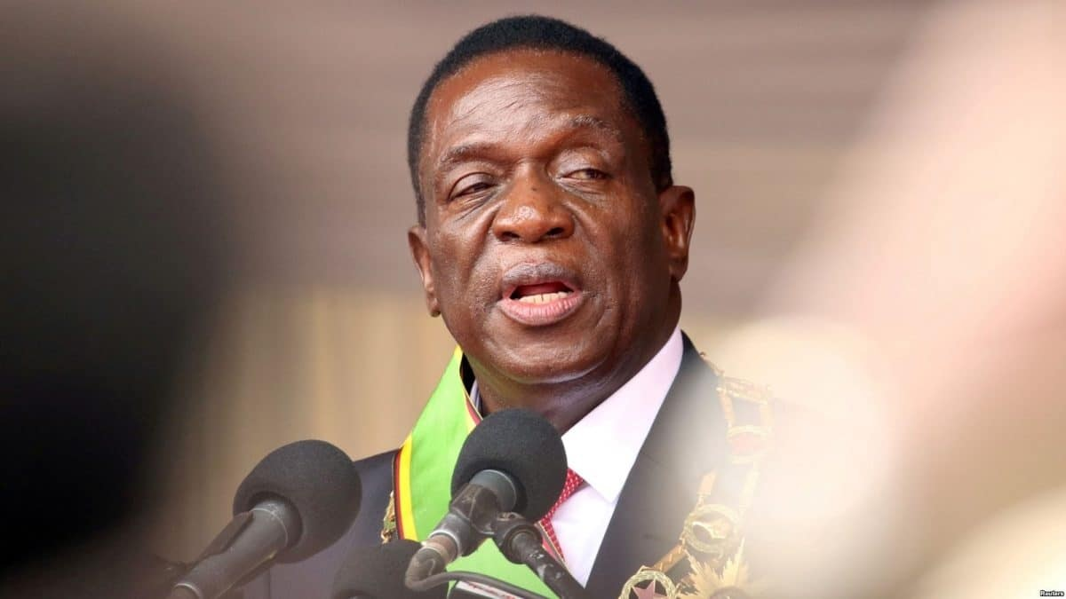 Trump vs Biden: US has lost moral right to punish any country – President Mnangagwa