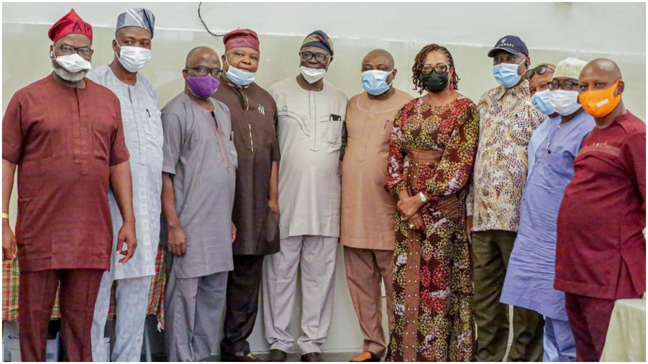 2023: South West Speakers storm Ibadan, Declares support for Tinubu (PHOTO)