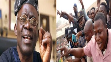 Sue Sunday Igboho, he has no right to pursue you out of Igangan – Falana tells Fulani Herdsmen