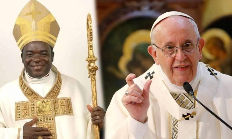 Pope Francis gives Bishop Kukah new appointment