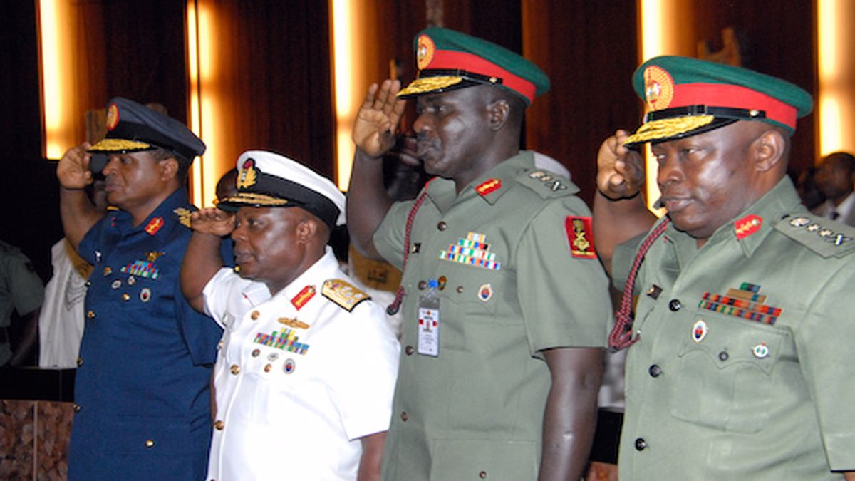 All of the immediate former service chiefs who appeared on Thursday as non-career candidates for ambassador were united in their lamentations about the lack of security in the country, which worsened under their watch from November 2015 to January 2021.