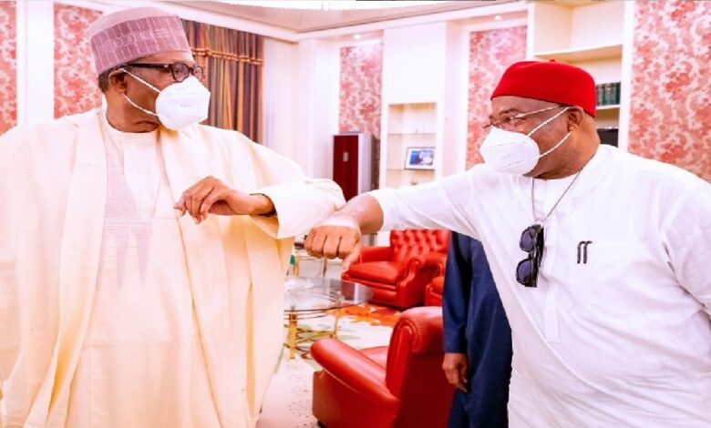 VIDEO: I Begged Buhari To Help Me Deal With IPOB Militants In Imo - Hope Uzodinma