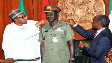 Buhari Repaid My Father By Making Me Chief Of Army Staff- Buratai