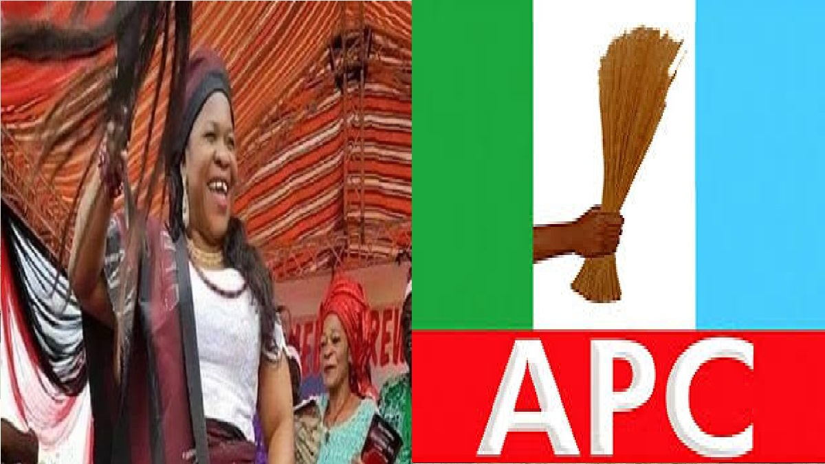 Hon. Blessing Onuh, David Mark's Daughter Join APC