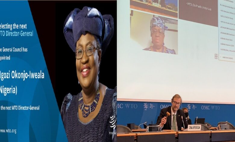Ngozi Okonjo-Iweala Finally Appointed WTO Director-General, Term Starts 1st March 2021