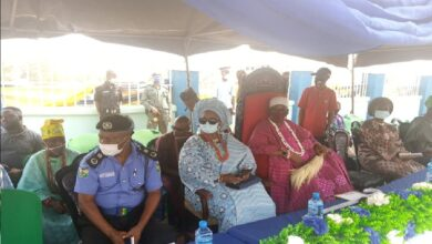 Fayemi Commission Newly Built Police Station by Former AIG in Ekiti(Video)