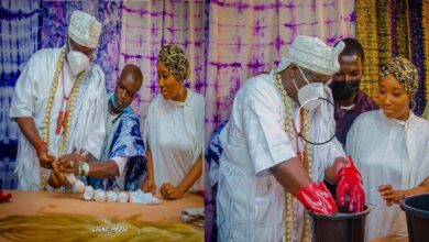 Aje Festival: Ooni launchs Adire Fashion Textile Factory