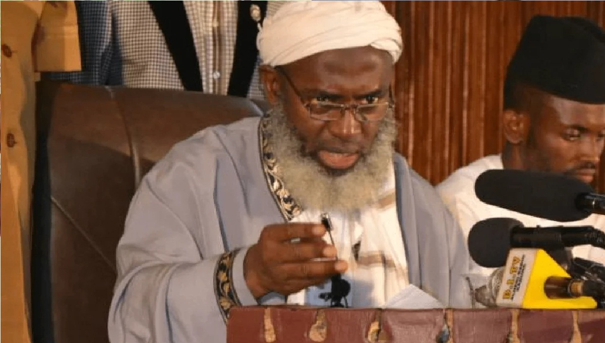 Bandits are peaceful people – Sheikh Gumi reveals